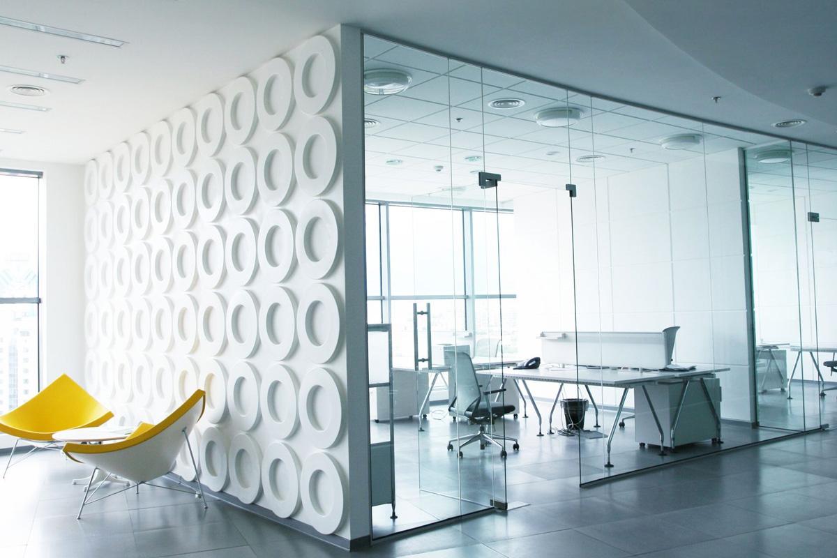 klassieke kantooromgeving werkplekken.professional workspace